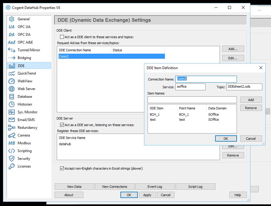 DDE screen capture